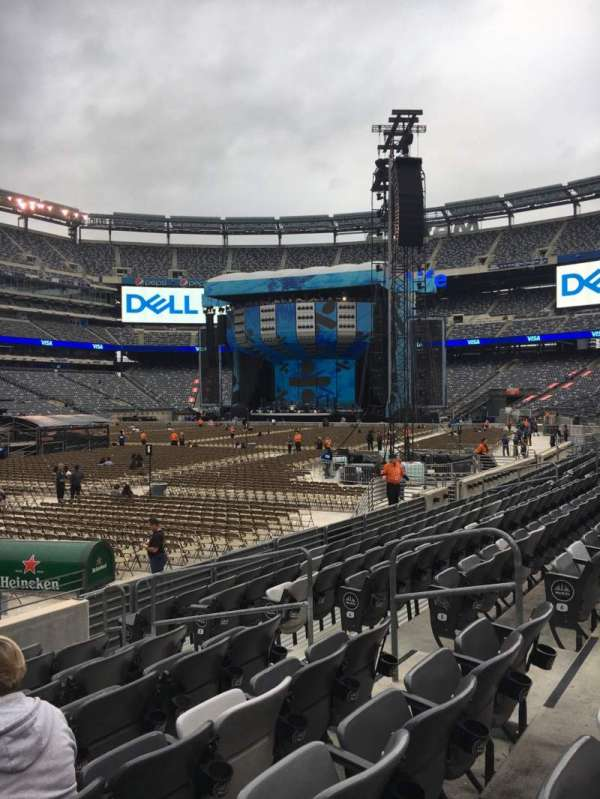 MetLife Stadium, section: 118, row: 8, seat: 8