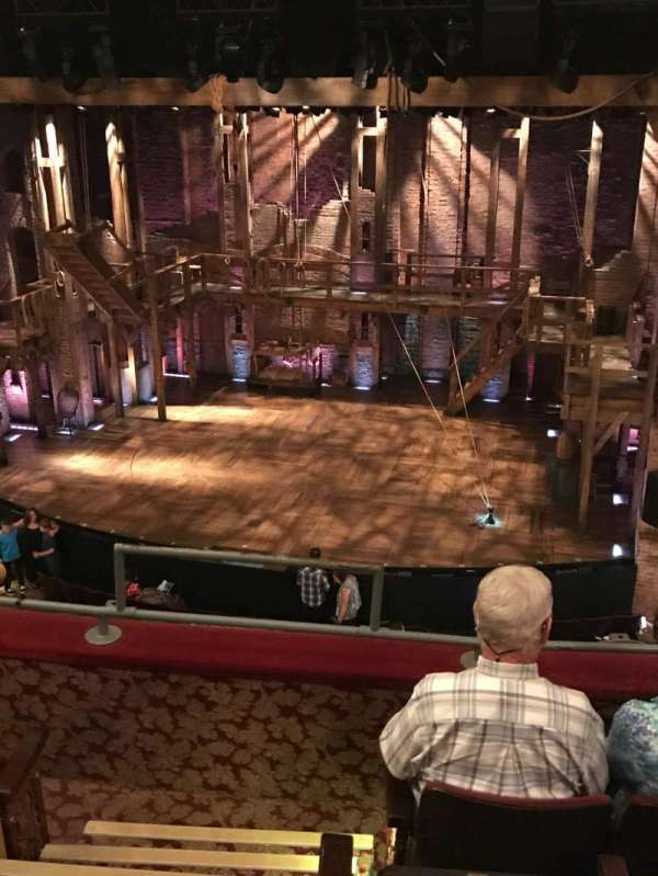 Richard Rodgers Theatre, section: Mezzanine R, row: D, seat: 2