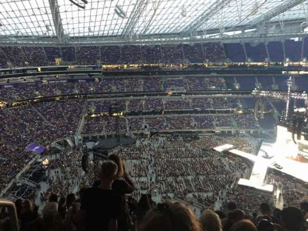 U.S. Bank Stadium, section: 313, row: 16, seat: 25