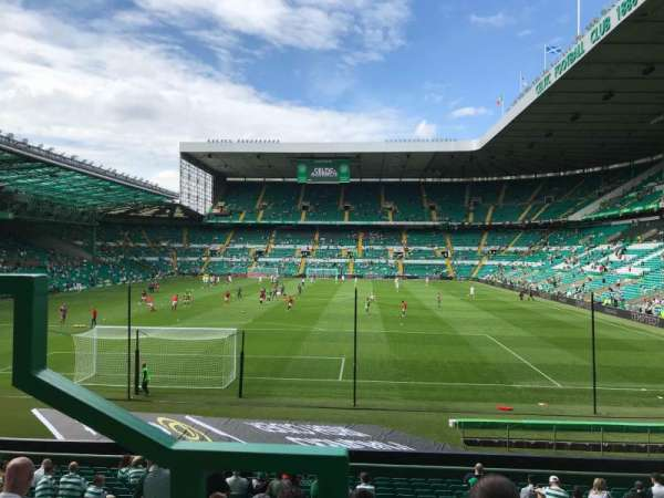 Celtic Park, section: 114, row: U, seat: 9