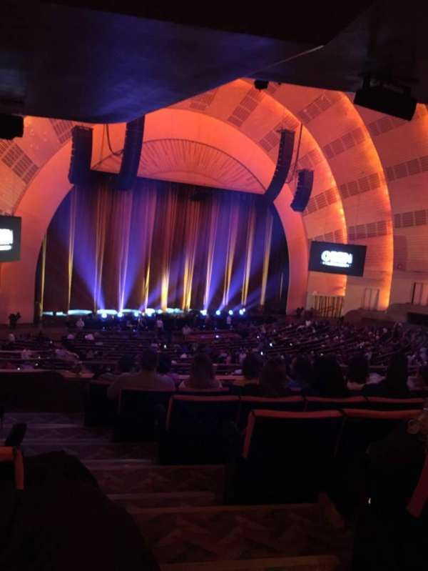 Radio City Music Hall, section: Orchestra 7, row: G, seat: 702