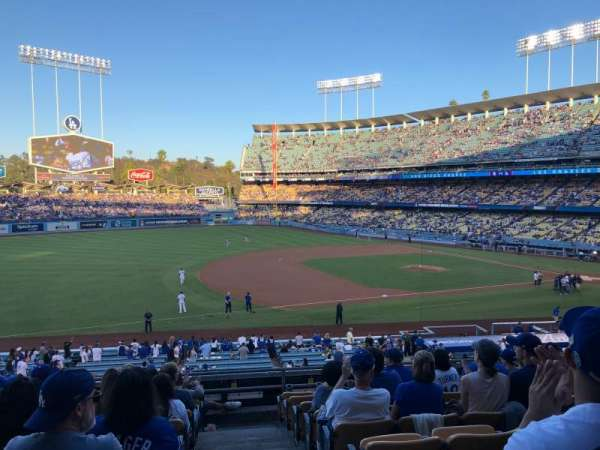 Dodger Stadium, section: 143LG, row: J, seat: 1