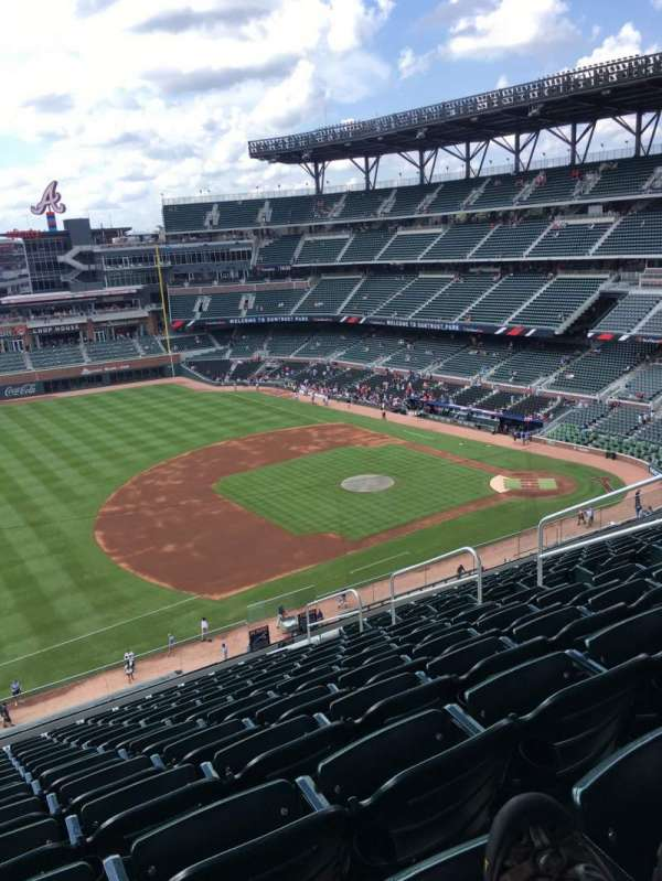 SunTrust Park, section: 337, row: 13, seat: 9