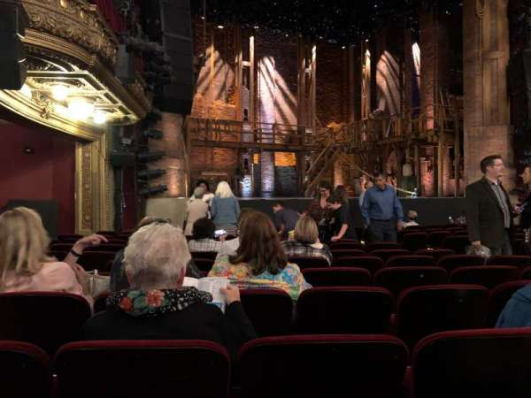 CIBC Theatre, section: Orchestra L, row: N, seat: 15