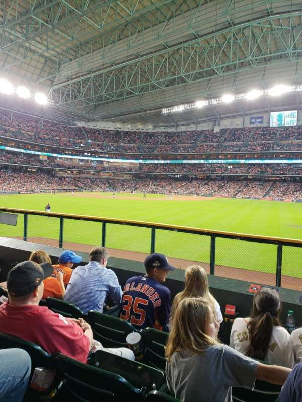 Minute Maid Park, section: 156, row: 4, seat: 13