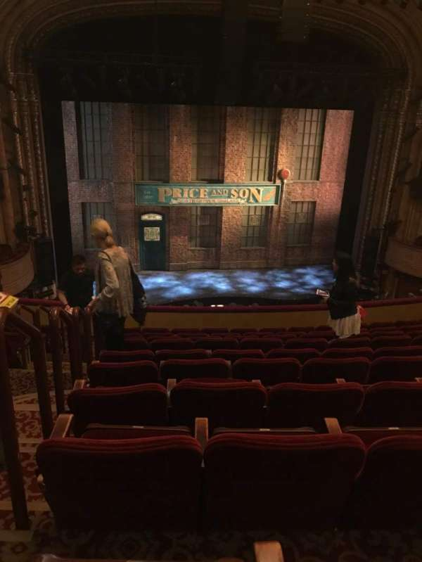 Al Hirschfeld Theatre, section: MezzC, row: K, seat: 114