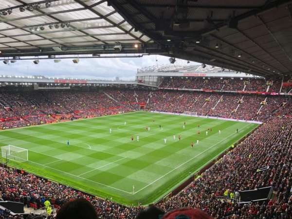 Old Trafford , section: NE3418, row: 10, seat: 70