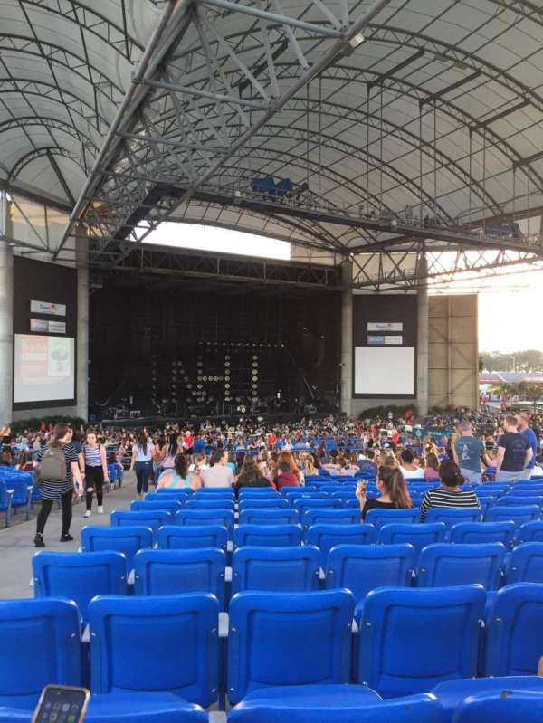 MidFlorida Credit Union Amphitheatre, section: Upper 13, row: Z, seat: 1-4