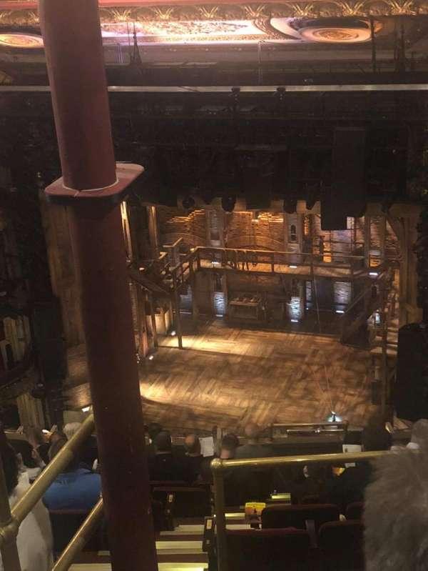 CIBC Theatre, section: Balcony R, row: L, seat: 2