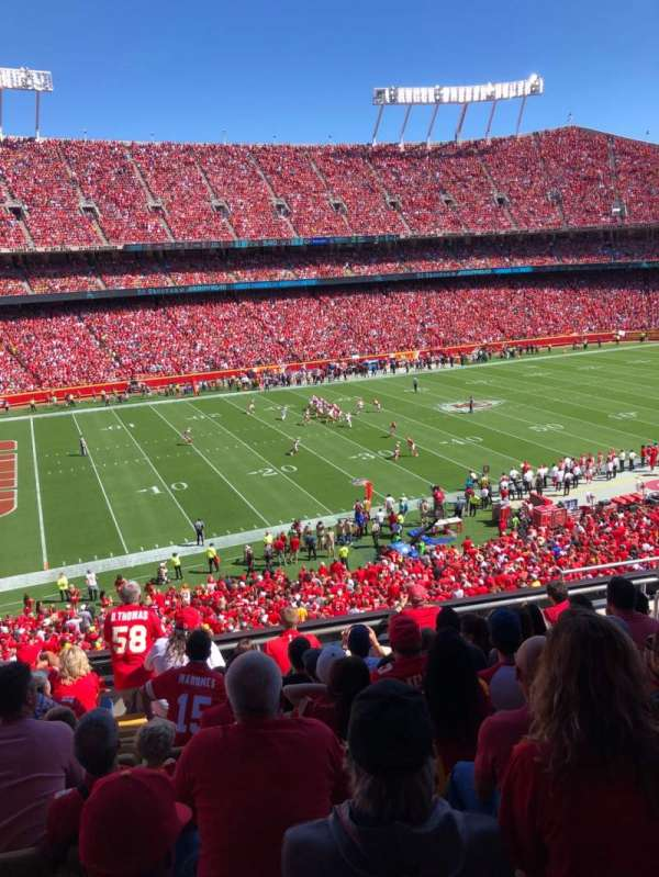 Arrowhead Stadium, section: 228, row: 9, seat: 8