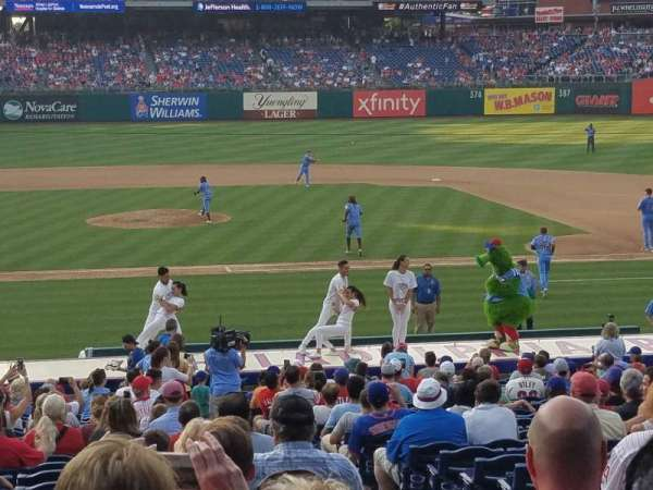 Citizens Bank Park, section: 118, row: 32, seat: 1-3