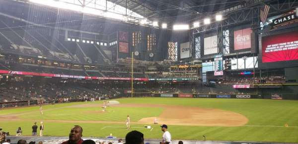Chase Field, section: 115, row: 23, seat: 19