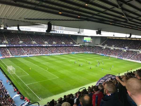 Ibrox Stadium, section: CD7, row: K, seat: 315