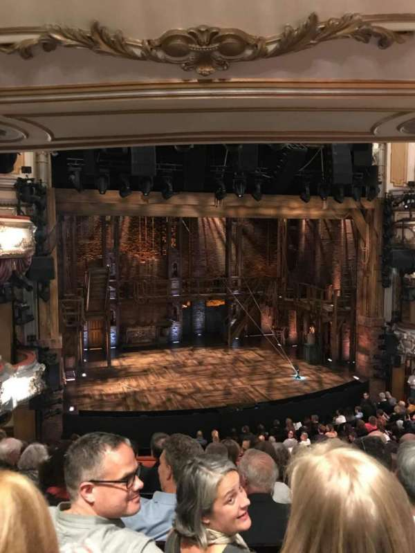 Victoria Palace Theatre, section: Grand Circle, row: G, seat: 20