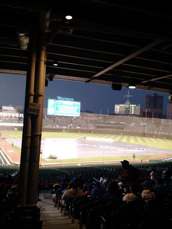 Wrigley Field, section: 220, row: 14, seat: 1