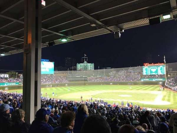 Wrigley Field, section: 214, row: 10, seat: 15