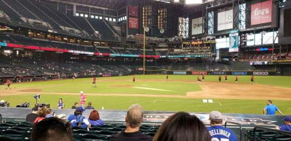 Chase Field, section: e, row: 15, seat: 2