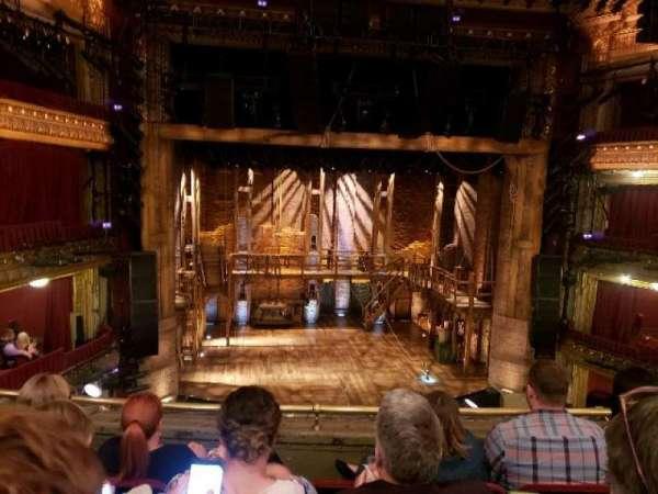 CIBC Theatre, section: Mezzanine LC, row: D, seat: 313