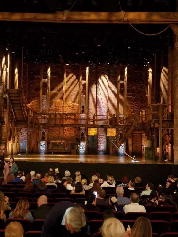 CIBC Theatre, section: Orchestra C, row: S, seat: 108