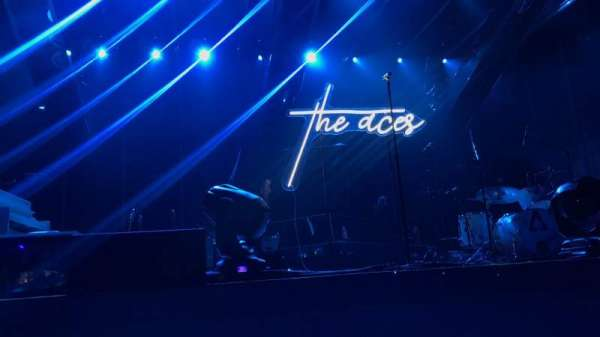 Coca-Cola Roxy, section: GA PIT, row: Barricade, seat: Center