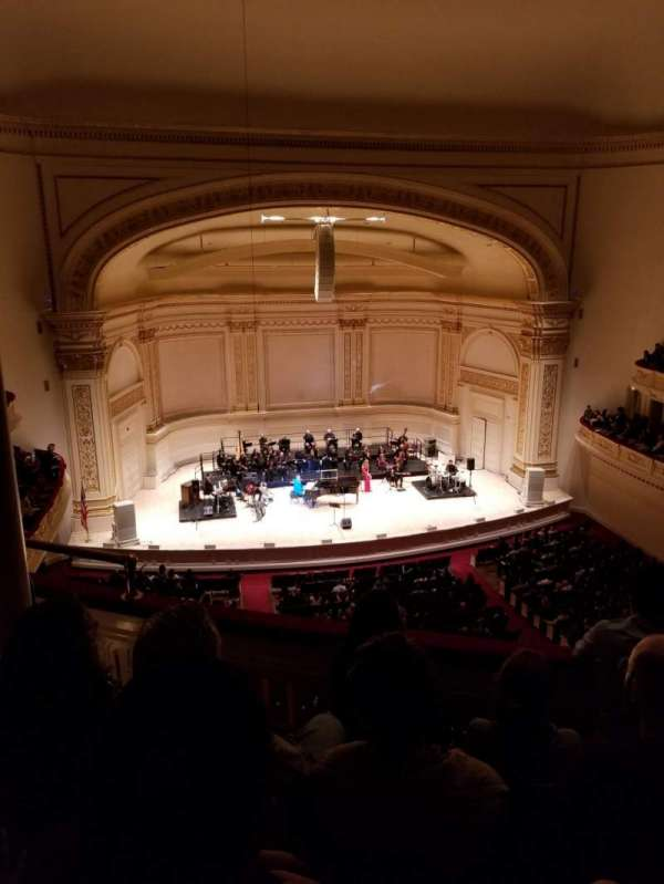 Carnegie Hall, section: Dress Circle, row: DD, seat: 15