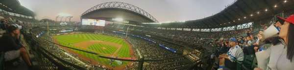 Safeco Field, section: 333, row: 1, seat: 7