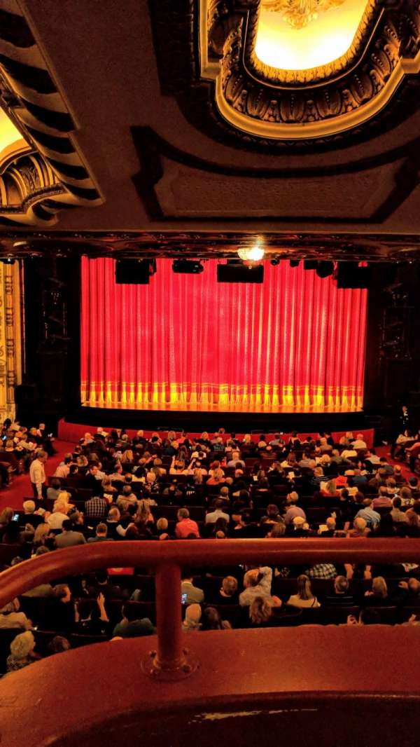 Cadillac Palace Theater, section: Dress Circle C, row: A, seat: 214