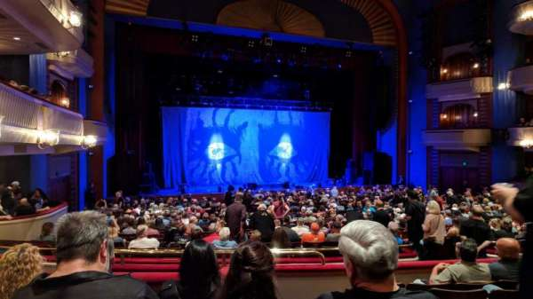 Ordway Center for the Performing Arts - Music Theater, section: MEZZ, row: FF, seat: 103