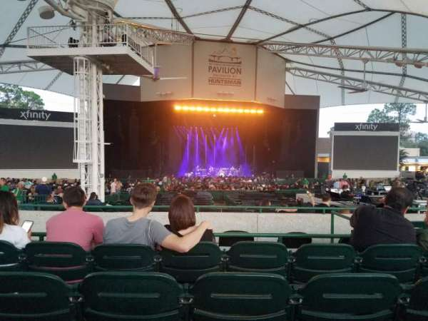 Cynthia Woods Mitchell Pavilion, section: 107, row: E, seat: 14