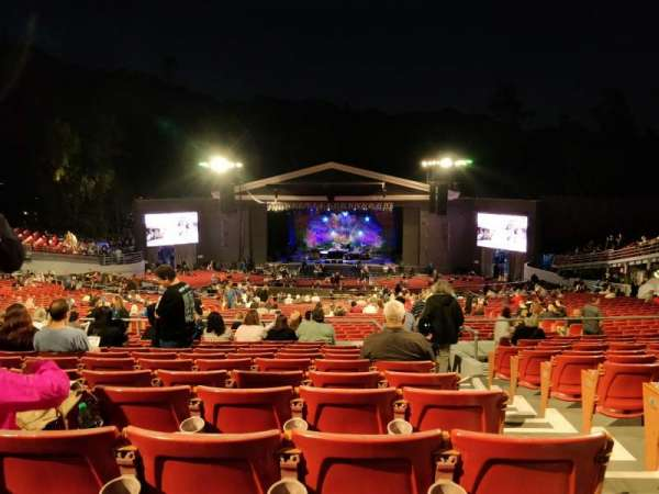 The Greek Theatre, section: C, row: L, seat: 134