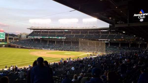 Wrigley Field, section: 205, row: 15, seat: 2