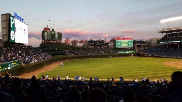 Wrigley Field, section: 205, row: 15, seat: 1