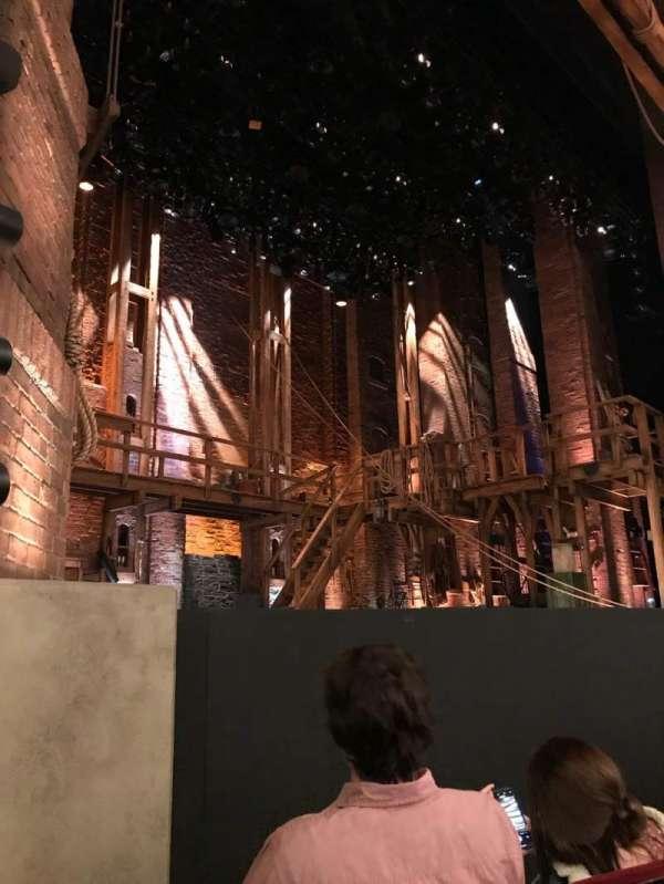 CIBC Theatre, section: Orchestra L, row: D, seat: 21
