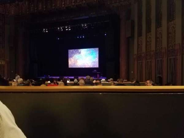 The Wiltern, section: Floor 4, row: O, seat: 20