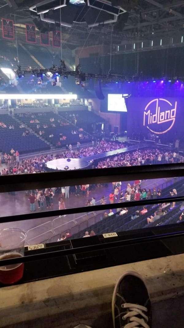 John Paul Jones Arena, section: 305, row: A, seat: 5