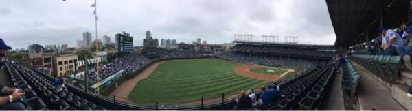 Wrigley Field, section: 404, row: 5, seat: 103