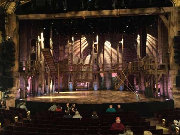 Richard Rodgers Theatre, section: Orchestra C, row: N, seat: 105