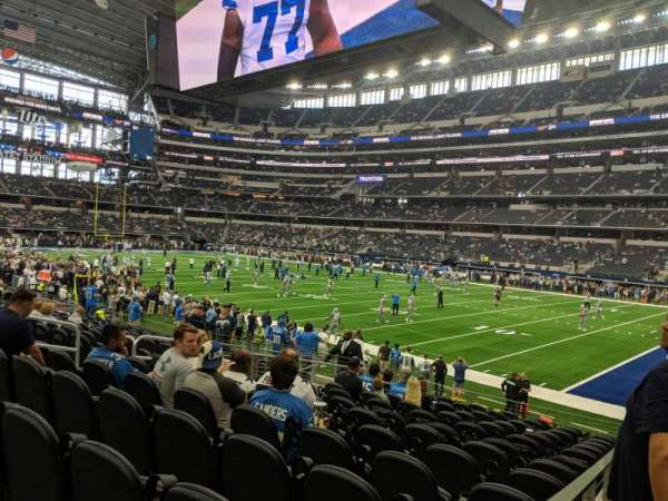 AT&T Stadium, section: 103, row: 14, seat: 10