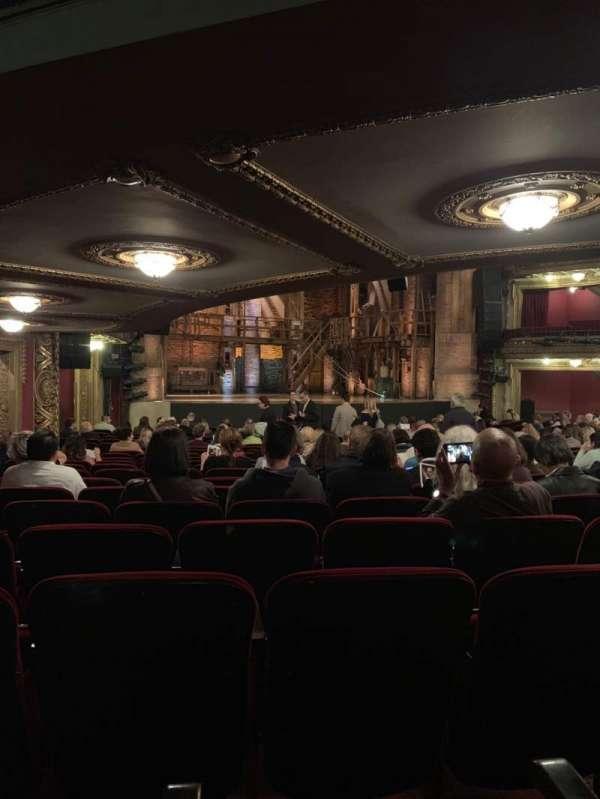 CIBC Theatre, section: Orchestra L, row: W, seat: 11