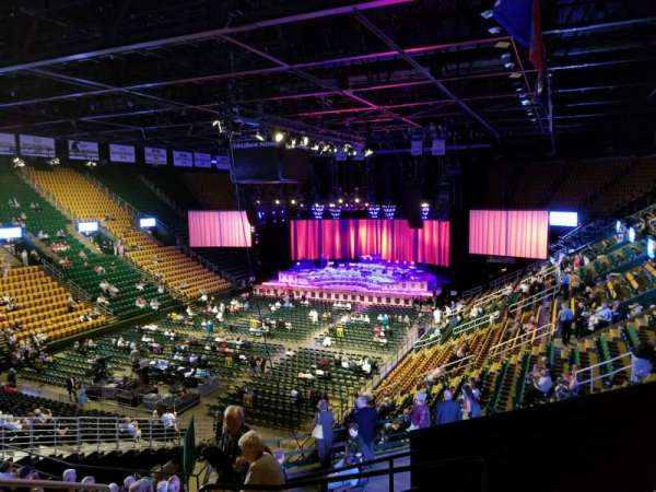 EagleBank Arena, section: 106, row: R, seat: 8