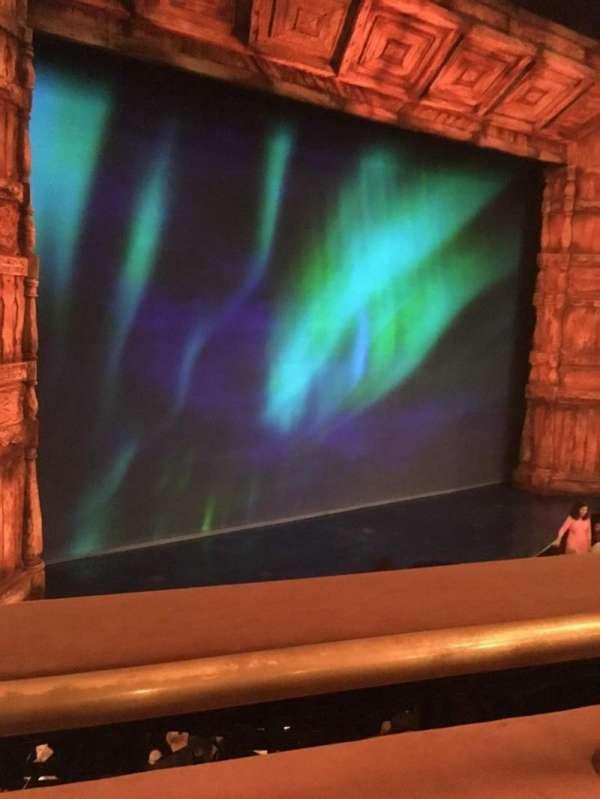 St. James Theatre, section: MEZZL, row: A, seat: 11