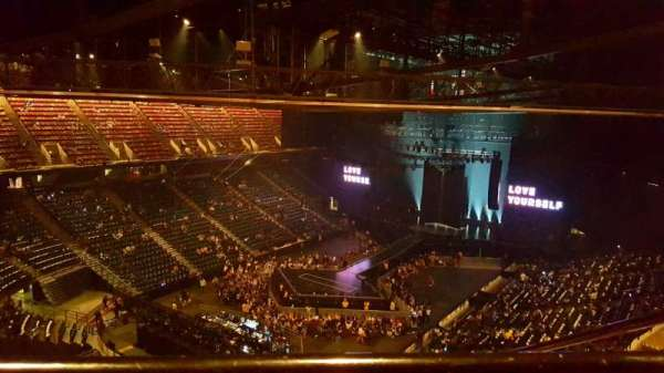 FirstOntario Centre, section: 215, row: 14, seat: 2