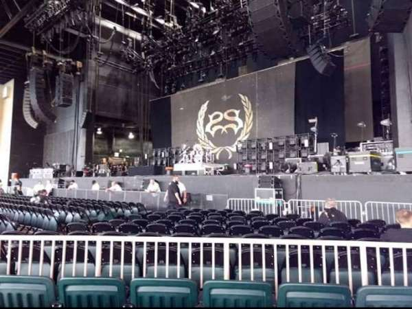 Dos Equis Pavilion, section: 100, row:  k, seat: Five six and seven
