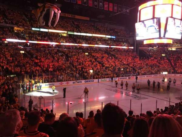 Bridgestone Arena, section: 103, row: G, seat: 19