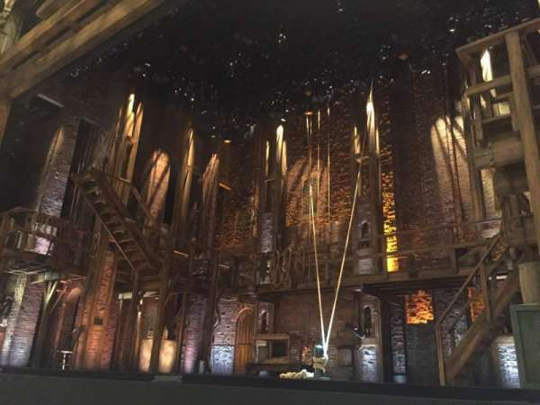 Victoria Palace Theatre, section: Stalls, row: C, seat: 13
