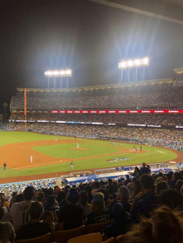 Dodger Stadium, section: 141LG, row: O, seat: 5-6