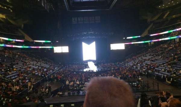 Prudential Center, section: 2, row: 17, seat: 5