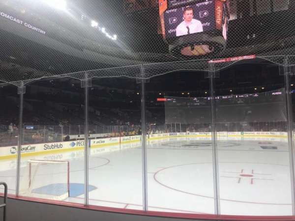 Wells Fargo Center, section: 108, row: 5, seat: 6