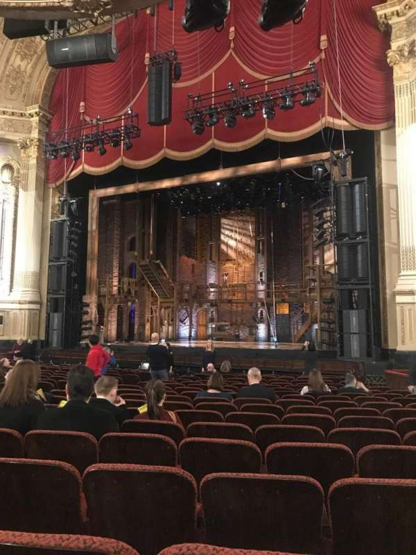 Citizens Bank Opera House, section: Orchestra R, row: N, seat: 22