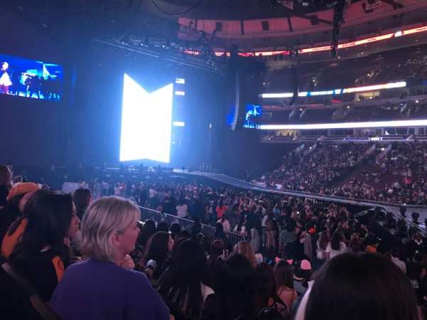 United Center, section: 111, row: 9, seat: 3